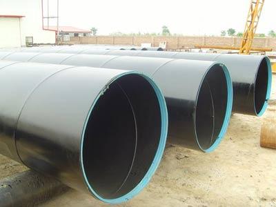 ASTM Tubo de Acero de Sldadura Espiral Norma Americana