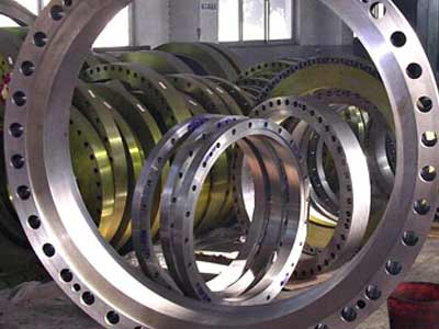 Large Scale Flange